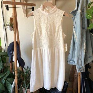 NWT Altar'd State Lace Mock Neck Sleeveless Dress